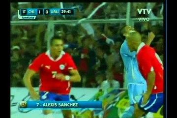 2010 (November 17) Chile 2-Uruguay 0 (Friendly).avi