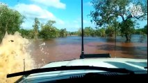 Howwss Excelent  Impressive Deep Water Crossing _ Land Cruiser_HD