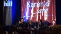 Michael Copon, Bevin Prince, & Kieren Hutchison Q&A 3-28-15 EyeCon Return to Tree Hill Part 6
