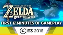 First 17 Minutes of Gameplay - The Legend of Zelda: Breath of the Wild - E3 2016