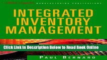 Download Integrated Inventory Management (The Oliver Wight Companies)  Ebook Online