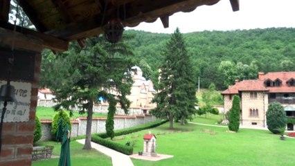 Манастир Челие (Chelije), където се покоят мощите на св. Иустин Попович