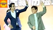 Jackie Chan Dance With Sonu Sood To A Daler Mehendi Song | Bollywood Asia