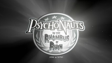 Psychonauts in the Rhombus of Ruin - Pre-Alpha Gameplay