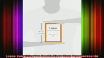 READ book  Lupus Everything You Need to Know Your Personal Health Full EBook
