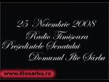 Ilie Sarbu - 25 Noiembrie 2008 - Radio Timisoara