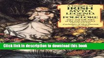 Read A Treasury of Irish Myth, Legend   Folklore (Fairy and Folk Tales of the Irish Peasantry /