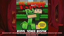 FREE PDF  Minecraft MineCraft Gaming Expert  Unofficial Minecraft Joke Book Book 1  DOWNLOAD ONLINE