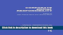 Download Corporate Social Responsibility (Critical Perspectives on Business and Management)  Ebook