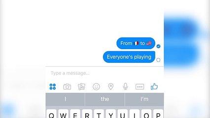 Facebook Messenger Soccer