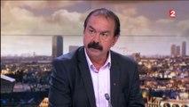 """Violences dans les manifestations : Martinez rejette toute """"responsabilité"""" de la CGT"""