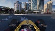 F1 2016 - Jolyon Palmer Baku Flying Lap Gameplay (E3 2016) EN