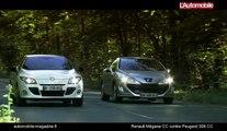Renault Mégane CC TCe contre Peugeot 308 CC THP