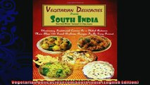read now  Vegetarian Delicacies From South India English Edition