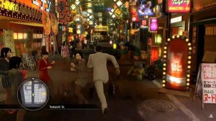 Gameplay E3 2016 de Yakuza 0