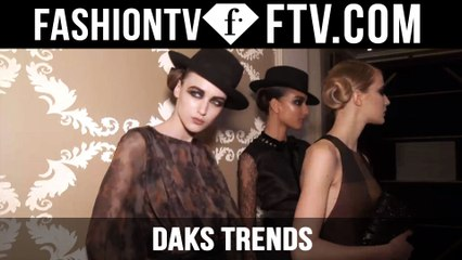 London Fashion Week Fall/Winter 2016-17 - Daks Trends   FTV.com