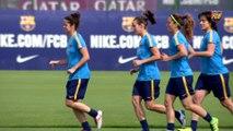 FCB Femenino: Xavi Llorens y Laura Ràfols, previa COPA v Real Sociedad [ESP]