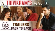 A Aa Super Hit Trailers - Back to Back - Nithin, Samantha, Anupama, Trivikram - Filmyfocus.com