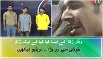 Masood Crying Emotional Auditions - OTE Episode 5 Waqar Zaka Show