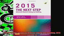 EBOOK ONLINE  The Next Step Advanced Medical Coding and Auditing 2015 Edition 1e READ ONLINE