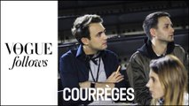 Courrèges : Fittings, backstage, confidences... Une journée de Fashion Week | #VogueFollows | VOGUE PARIS