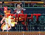 M.U.G.E.N Battle #1: Sandy Cheeks (Mugenfan) & KFM vs. Sandy Cheeks (Zobbes) & Evil Homer.