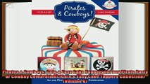 favorite   Pirates  Cowboys Cute  Easy Cake Toppers for any Pirate Party or Cowboy Celebration