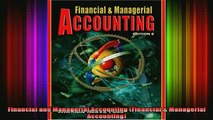 READ book  Financial and Managerial Accounting Financial  Managerial Accounting Full Free