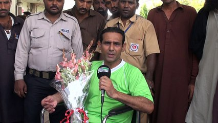 Pacemaker successfully implanted in Olympian Mansoor Ahmed