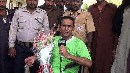 اولمپئن منصور احمد کا کراچی میں دل کا کامیاب آپریشن