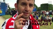 Notre supporter albanais regrette que des Français soient en grève pendant l'Euro