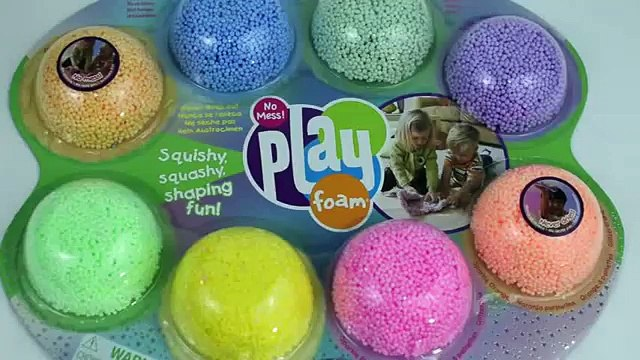 Play Foam SURPRISE eggsToys  Inside Out FrozenThe Ugglys Pet Shop Hello Kitty Surprise TV Toys