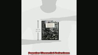 Popular book  Popular Financial Delusions