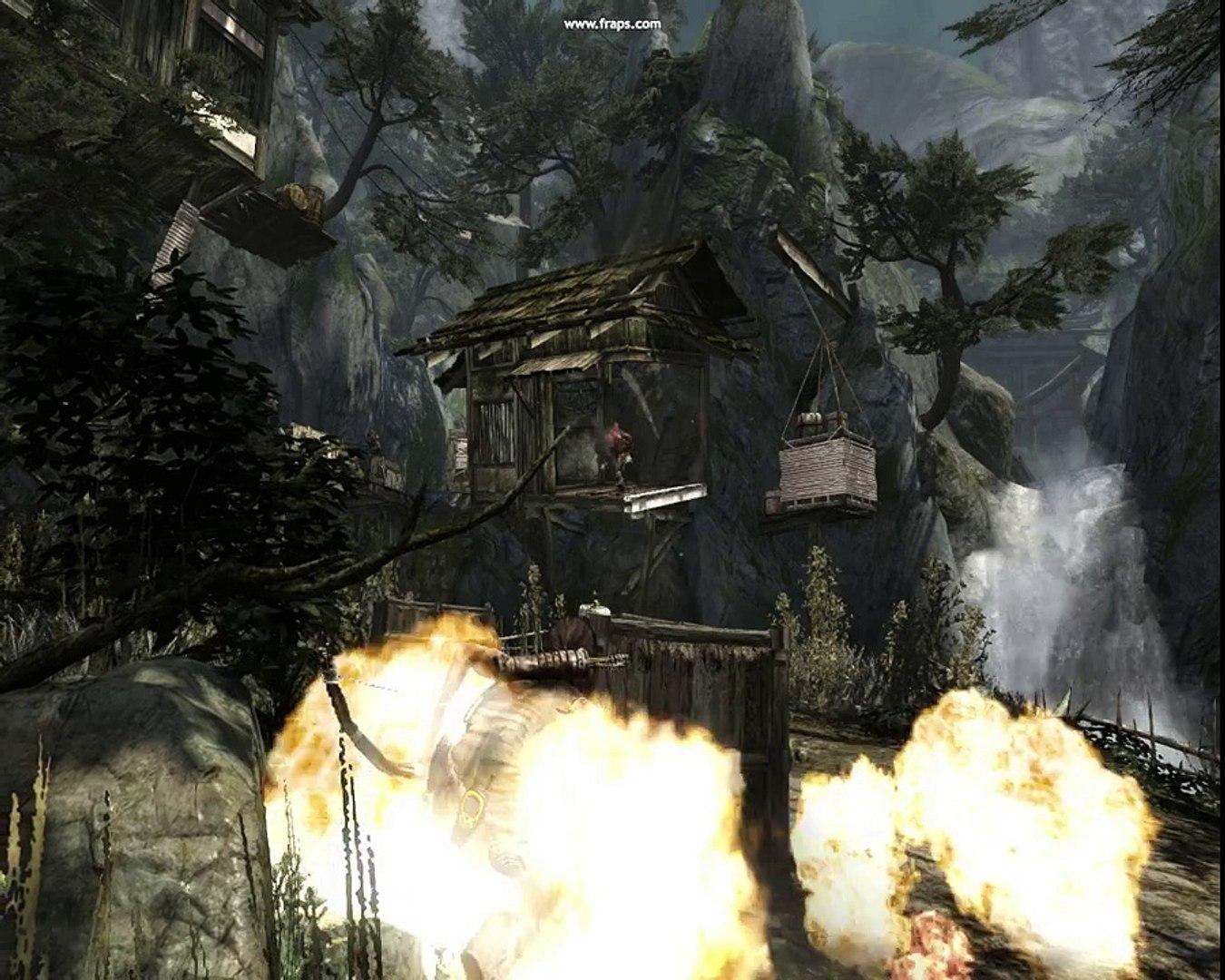 видео вопрос как пройти уровень№1:TombRaider survival edition