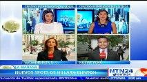 Hillary Clinton lanza nuevos mensajes publicitarios dirigidos hacia la comunidad hispana en EE.UU.