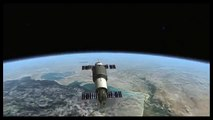 Salyut 1 Soyuz 11 Orbiter Space Flight Simulator