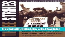 Read Three Strikes: Labor s Heartland Losses and What They Mean for Working Americans  Ebook Online