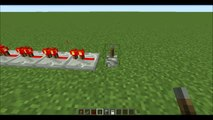 Minecraft Redstone Tutorials- Simple Redstone Timer