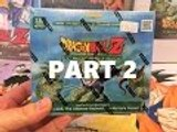 DBZ Card Unboxing Weighed Perfection Booster Box Part 2 Dragon Ball Z TCG CCG Panini