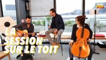"""Alex Beaupain interprète """"Je te supplie"""" pour la session sur le toit"""