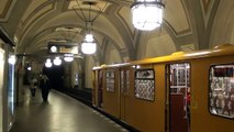 Berlin U Bahn: U3 service at Heidelberger Platz 25/10/2013