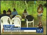 Continúa búsqueda de los niños accidentados en el Chaco