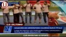 Universitario de Deportes celebró junto a sus hinchas el título 26 en el estadio Monumental.