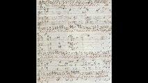 Bach Manuscript - Matthaeus Passion - 24