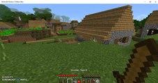 Minecraft Windows 10 Beta Part 1   Village Galore