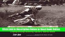 Read Legendary Motocross Bikes: Championship-Winning Factory Works Motorcycles  Ebook Free