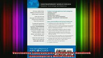 READ book  Vaccination Controversies A Reference Handbook Contemporary World Issues Full Free