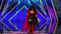 Miranda Cunha Wild Dancer Kisses Simon Cowell on the Lips America's Got Talent 2016 Auditions