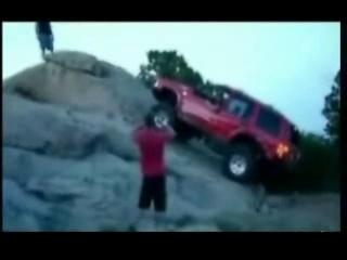 Accident jeep