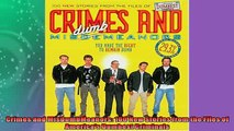 EBOOK ONLINE  Crimes and MisDumbMeanors 100 New Stories from the Files of Americas Dumbest Criminals  DOWNLOAD ONLINE